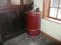 Moisture Tester on display at Helmshore Mills Textile Museum
