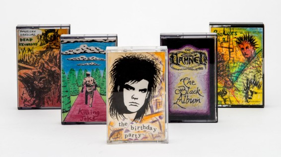 Handmade tape covers by Luke Blair © Museum of London