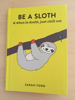 Be a Sloth book cover